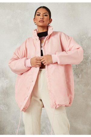 Missguided Petite Oversized Coach Jacket