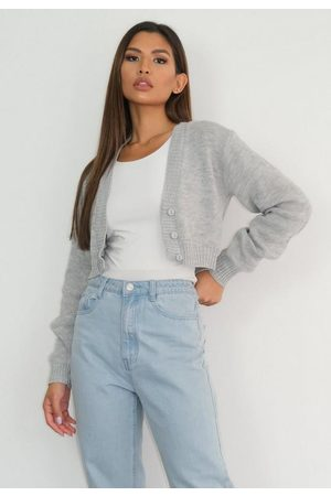 Missguided Gray Basic Knit Cardigan