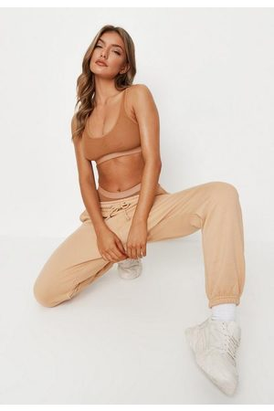 Missguided Mesh Double Layer Scoop Bra