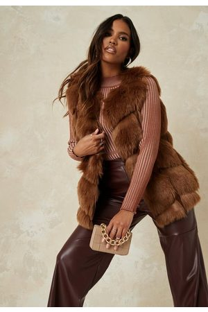 Missguided Pelted Faux Fur Tank Top