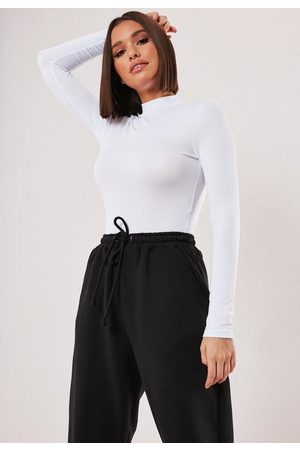 Missguided Funnel Neck Long Sleeve Top
