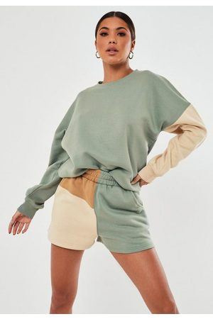 Missguided Co Ord Colorblock Sweatshirt