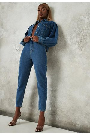 Missguided Co Ord Clean Mom Jeans