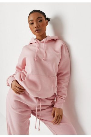 Missguided Petite Blush Basic Hoodie