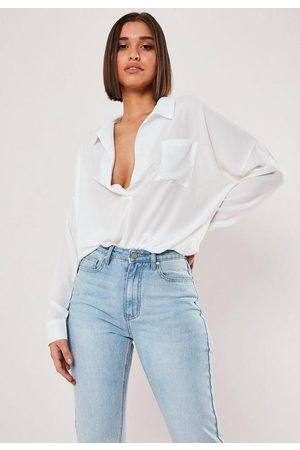 Missguided Oversized Plunge Tunic