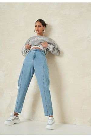 Missguided Seam Tapered Leg Jeans