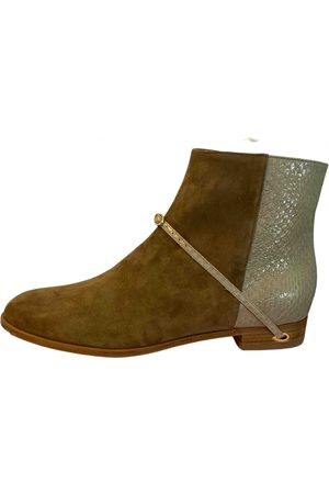 Jennifer Chamandi \N Suede Ankle boots for Women