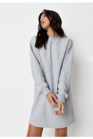 Missguided Women Casual Dresses - Basic Oversized Sweater Dress