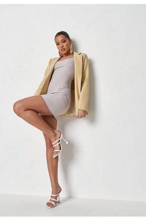 Missguided Cami Strap Bodycon Tailored Mini Dress