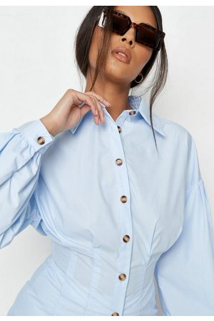 Missguided Tall Poplin Corset Shirt