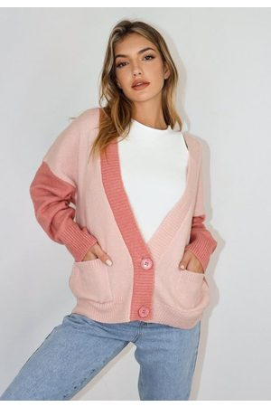 Missguided Petite Colorblock Cardigan