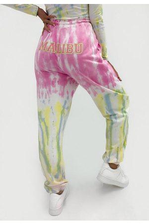 Missguided Women Sweatpants - Co Ord Malibu Tie Dye Joggers