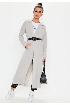 Missguided Long Sleeve Maxi Duster Jacket