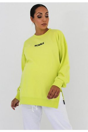 Missguided Women Sweatshirts - Maternity Momma Embroidered Sweatshirt