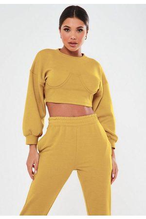 Missguided Tall Corset Sweatshirt