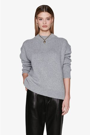 ANINE BING Women Rosie Cashmere Knit In Grey