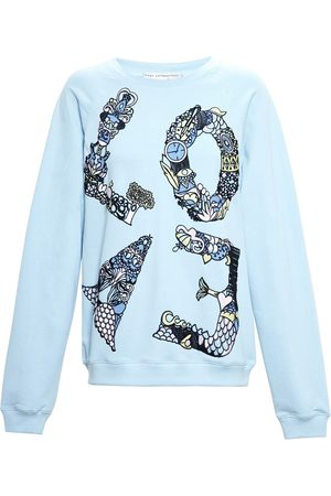 Mary Katrantzou Love' embroidered sweatshirt