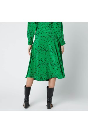 Kenzo Women Printed Skirts - Women's Printed Midi Fluid Skirt