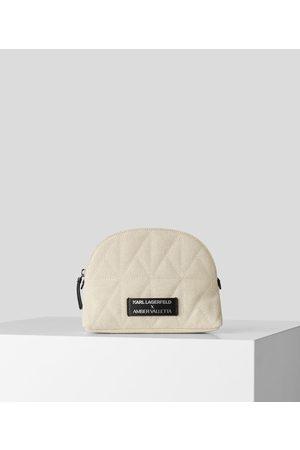 Karl Lagerfeld Women Toiletry Bags - KARL X AMBER VALLETTA ROUNDED TOILETRY BAG