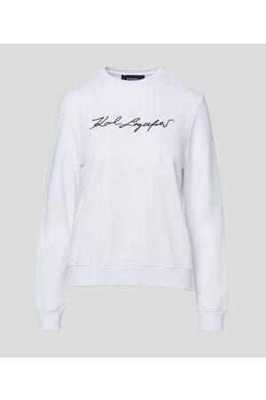 Karl Lagerfeld Women Sweatshirts - KARL SIGNATURE SWEATSHIRT