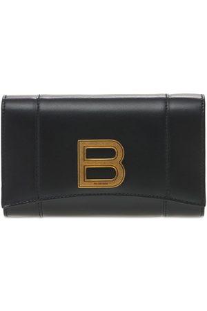 Balenciaga Women Wallets - Hourglass Leather Wallet