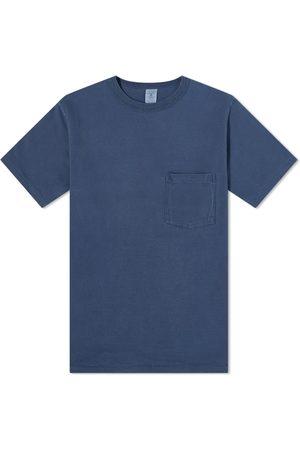 Velva Sheen Men T-shirts - Pigment Dyed Pocket Tee