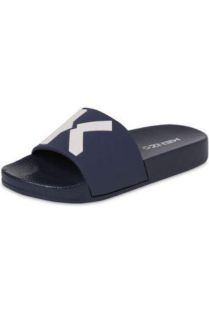 Kenzo Logo Print Rubber Slide Sandals