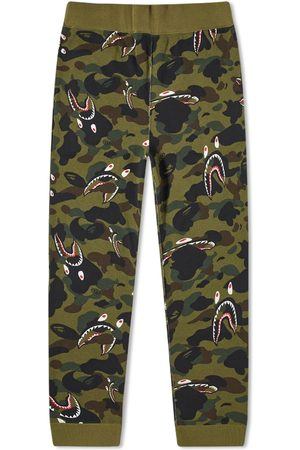 AAPE BY A BATHING APE Men Sweatpants - Shark 1St Camo Sweat Pants