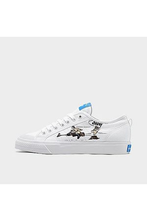 adidas Boys' Big Kids' Originals Nizza x Star Wars Casual Shoes in /White Size 4.0 Canvas