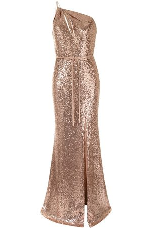 Marchesa Notte Sequin-embellished bridemaids dress