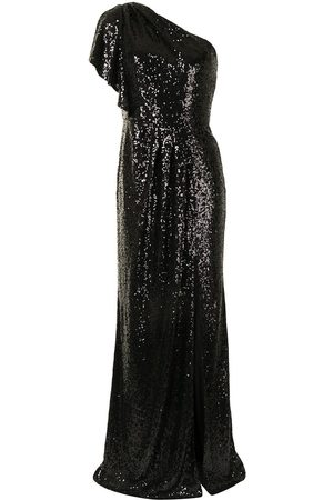 Marchesa Notte Sequin-embellished bridesmaids dress