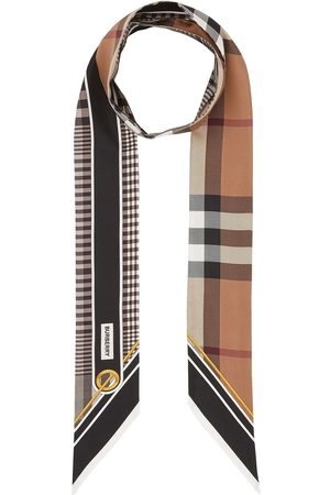 Burberry Vintage Check foulard scarf - Neutrals