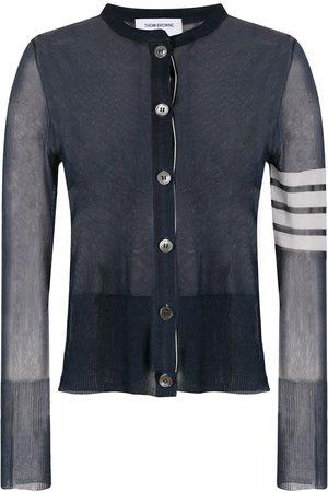 Thom Browne 4-Bar knitted cardigan
