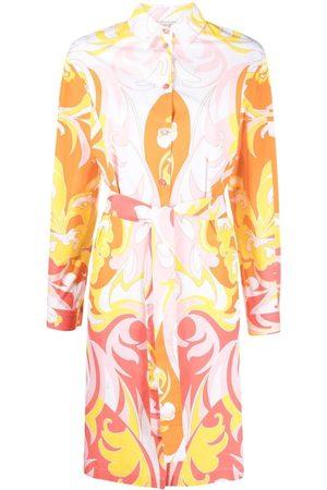 Emilio Pucci Tropicana-print shirtdress
