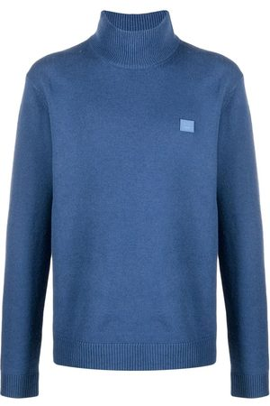Acne Studios Logo-patch turtleneck jumper