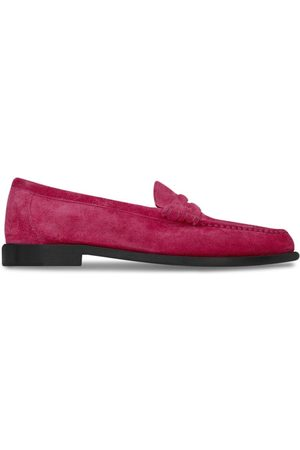 Saint Laurent Almond-toe slip-on loafers