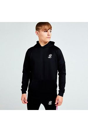 SikSilk Boys' Illusive London Flux Taped Pullover Hoodie in /