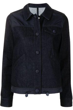 Moncler Multi-panel denim jacket