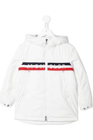 Moncler Logo-embroidered jacket
