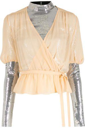 NK Sequin blouse - Neutrals