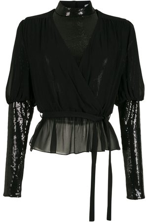 NK Layered silk blouse