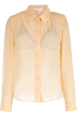NK Silk long sleeves shirt - Neutrals