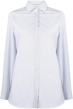 Saint Laurent Double pinstripe oversized shirt