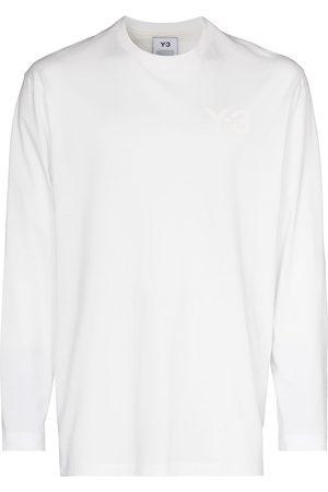 Y-3 Tonal-logo long-sleeve T-shirt