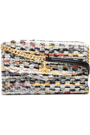 Tory Burch Kira tweed chain wallet - Multicolour