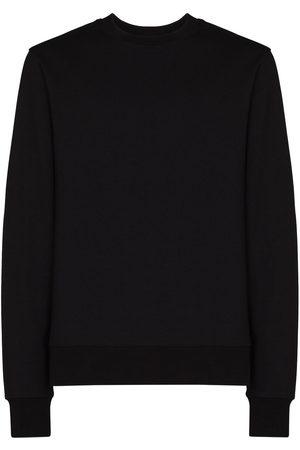 Y-3 Men Sweatshirts - Tonal-logo crew-neck sweatshirt