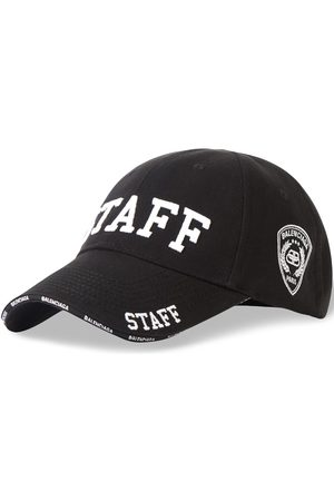 Balenciaga Staff embroidered baseball cap