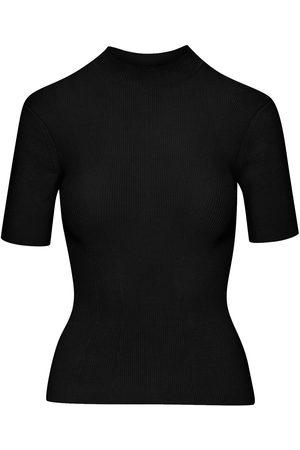 Oscar de la Renta Women Short Sleeve - Round-neck short-sleeve top