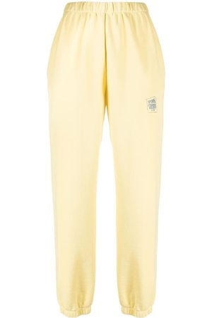 Opening Ceremony SMALL WARPED LOGO SWEATPANT PALE LEMON C