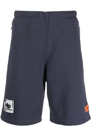 Heron Preston Men Sports Shorts - SWEATSHORTS PERIODIC ANTHRACITE WHITE